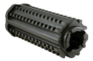 MFT AR15/M16 4 Sided Rail - Polymer - M-4 Carbine, Black M44S