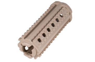 MFT AR15/M16 4 Sided Rail - Polymer - M-4 Carbine, Flat Dark Earth M44SFDE