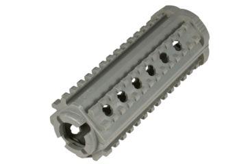 MFT AR15/M16 4 Sided Rail - Polymer - M-4 Carbine, Gray M44SGY
