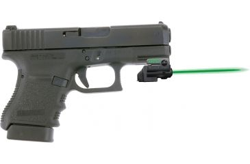 Armalaser Gtoflx Finger Touch Green Laser Sight For Glock Handguns