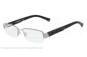 Armani EA1001 Eyeglass Frames 3010-52 - Gunmetal Frame
