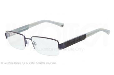 Armani EA1001 Eyeglass Frames 3018-52 - Matte Blue Frame