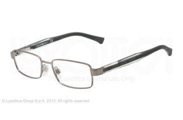 Armani EA1002 Eyeglass Frames 3003-51 - Matte Gunmetal Frame