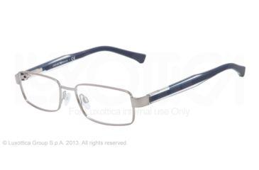 Armani EA1002 Eyeglass Frames 3010-51 - Gunmetal Frame