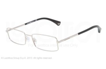 Armani EA1003 Eyeglass Frames 3015-52 - Silver Frame