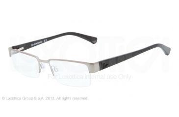 Armani EA1006 Bifocal Prescription Eyeglasses 3016-53 - Gunmetal Frame