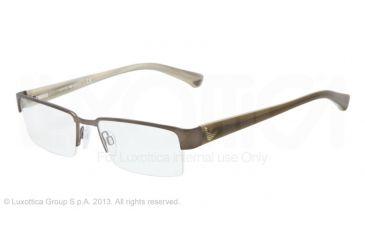 Armani EA1006 Bifocal Prescription Eyeglasses 3017-51 - Matte Green Frame