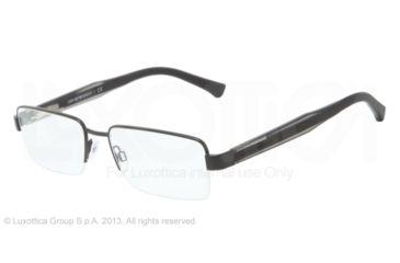 Armani EA1012 Bifocal Prescription Eyeglasses 3001-54 - Matte Black Frame