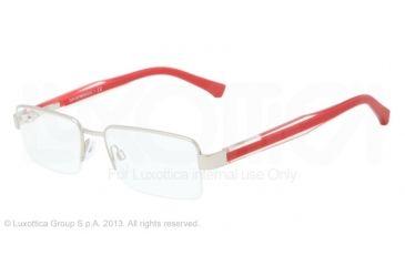 Armani EA1012 Bifocal Prescription Eyeglasses 3045-52 - Matte Silver Frame