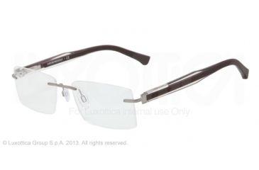 Armani EA1013 Bifocal Prescription Eyeglasses 3010-52 - Gunmetal Frame