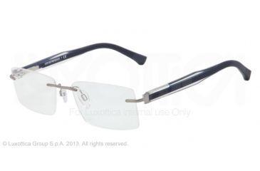 Armani EA1013 Bifocal Prescription Eyeglasses 3046-54 - Gunmetal Frame
