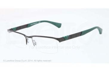 Armani EA1014 Bifocal Prescription Eyeglasses 3001-53 - Matte Black Frame
