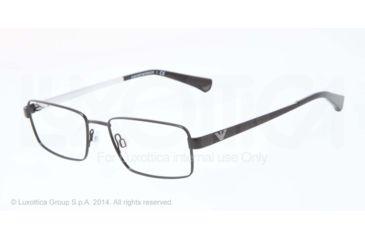 Armani EA1015 Progressive Prescription Eyeglasses 3008-53 - Black Frame