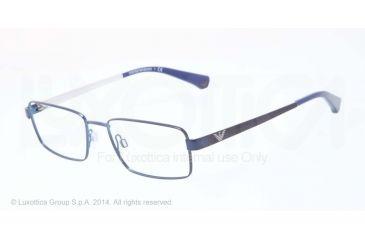 Armani EA1015 Progressive Prescription Eyeglasses 3052-53 - Blue Frame