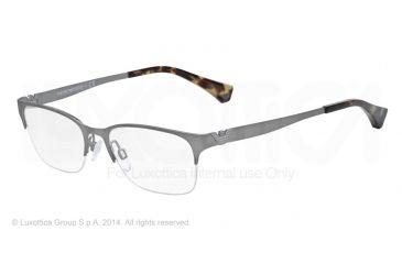 Armani EA1019 Bifocal Prescription Eyeglasses 3003-52 - Matte Gunmetal Frame