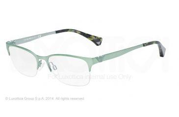 Armani EA1019 Bifocal Prescription Eyeglasses 3075-52 - Matte Green Frame