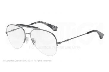 Armani EA1020 Bifocal Prescription Eyeglasses 3003-55 - Matte Gunmetal Frame