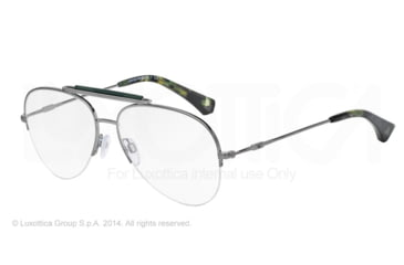 Armani EA1020 Bifocal Prescription Eyeglasses 3060-55 - Gunmetal Frame