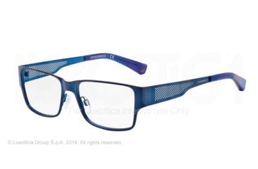 Armani EA1022 Eyeglass Frames 3050-53 - Matte Blue Frame