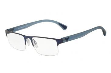 f953d6ccea9 Armani EA1050 Eyeglass Frames 3111-53 - Matte Blue Frame