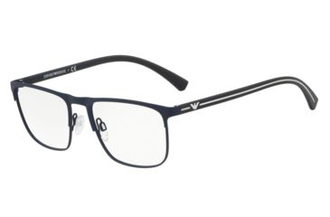 f177f541a44 Armani EA1079 Prescription Eyeglasses 3092-53 - Blue Rubber Frame