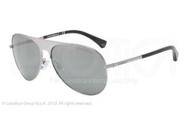 Armani EA2003 Bifocal Prescription Sunglasses EA2003-30106G-59 - Lens Diameter 59 mm, Frame Color Gunmetal