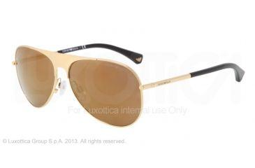 Armani EA2003 Bifocal Prescription Sunglasses EA2003-30217D-59 - Lens Diameter 59 mm, Frame Color Gold