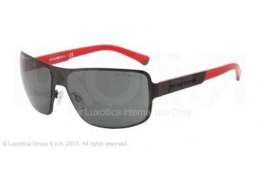 Armani EA2005 Progressive Prescription Sunglasses EA2005-300187-61 - Lens Diameter 61 mm, Frame Color Matte Black