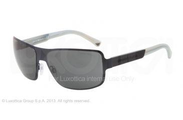 Armani EA2005 Progressive Prescription Sunglasses EA2005-301887-61 - Lens Diameter 61 mm, Frame Color Matte Blue