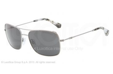 Armani EA2011 Single Vision Prescription Sunglasses EA2011-301087-56 - Lens Diameter 56 mm, Frame Color Gunmetal