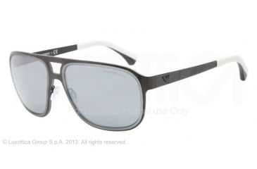 Armani EA2012 Bifocal Prescription Sunglasses EA2012-30016G-58 - Lens Diameter 58 mm, Frame Color Matte Black