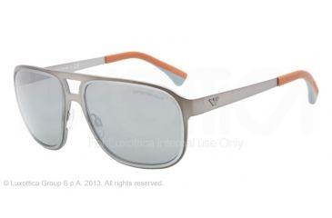 Armani EA2012 Bifocal Prescription Sunglasses EA2012-30036G-58 - Lens Diameter 58 mm, Frame Color Matte Gunmetal