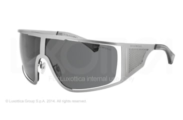 Armani EA2021 Sunglasses 305487-39 - Dark Gunmetal Frame, Grey Lenses