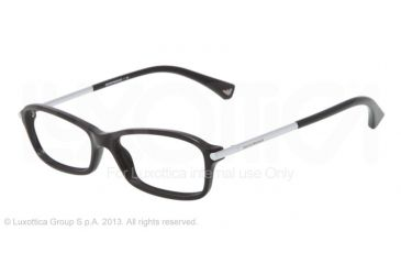 Armani EA3006 Eyeglass Frames 5017-51 - Black Frame