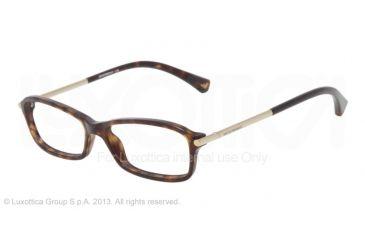 Armani EA3006 Eyeglass Frames 5026-51 - Dark Havana Frame
