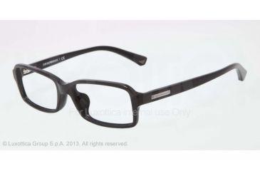 Armani EA3010F Single Vision Prescription Eyeglasses 5017-54 - Black Frame