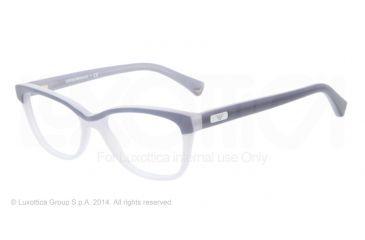 Armani EA3015 Single Vision Prescription Eyeglasses 5109-51 - Grey/blue Frame