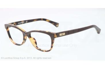 Armani EA3015F Eyeglass Frames 5107-53 - Havana/brown Frame