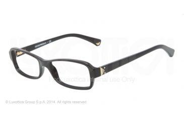 Armani EA3016 Bifocal Prescription Eyeglasses 5017-51 - Black Frame