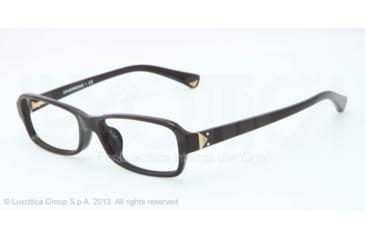 Armani EA3016F Single Vision Prescription Eyeglasses 5017-53 - Black Frame