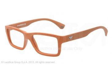 Armani EA3019 Single Vision Prescription Eyeglasses 5140-53 - Brick Red Frame
