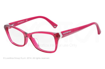 Armani EA3023F Progressive Prescription Eyeglasses 5199-54 - Cyclamen Frame