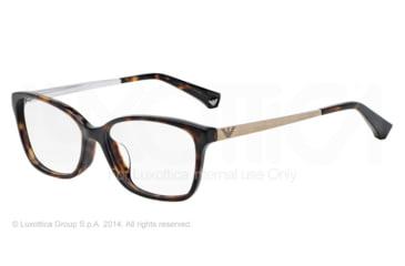 Armani EA3026F Bifocal Prescription Eyeglasses 5026-54 - Dark Havana Frame