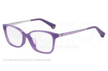 Armani EA3026F Bifocal Prescription Eyeglasses 5128-54 - Pearl Lilac Frame