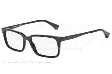 Armani EA3030 Bifocal Prescription Eyeglasses 5017-53 - Black Frame