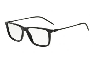 2931d9c41b Armani EA3063 Single Vision Prescription Eyeglasses 5017-53 - Black Frame