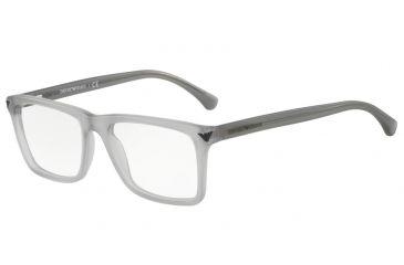 f4d9f0f0b13 Armani EA3071 Eyeglass Frames 5532-53 - Matte Transparent Grey Frame