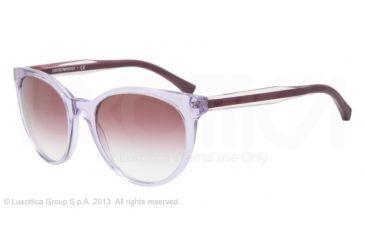 Armani EA4003 Sunglasses 50718H-55 - Violet Trasp Frame, Violet Gradient Lenses
