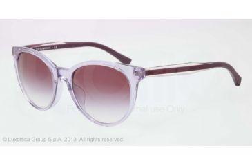 Armani EA4003F Sunglasses 50718H-55 - Violet Trasp Frame, Violet Gradient Lenses