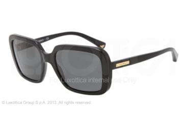 Armani EA4007 Sunglasses 501787-54 - Black Frame, Gray Lenses